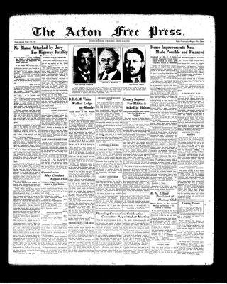 Acton Free Press (Acton, ON), 22 Apr 1937