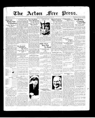 Acton Free Press (Acton, ON), 20 May 1937