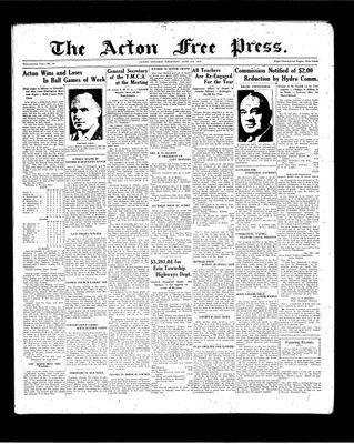 Acton Free Press (Acton, ON), 3 Jun 1937