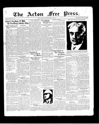 Acton Free Press (Acton, ON), 10 Jun 1937