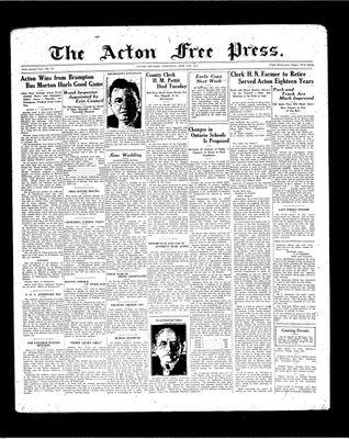Acton Free Press (Acton, ON), 24 Jun 1937