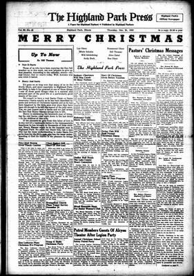 Highland Park Press, 21 Dec 1950