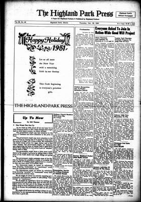 Highland Park Press, 28 Dec 1950