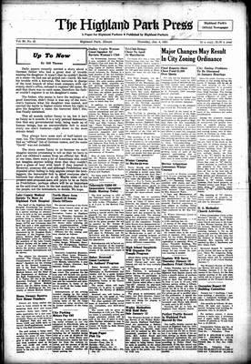 Highland Park Press, 4 Jan 1951