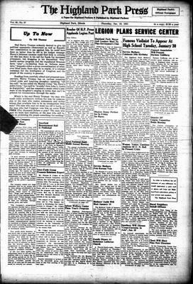 Highland Park Press, 18 Jan 1951