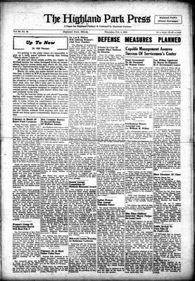 Highland Park Press, 1 Feb 1951