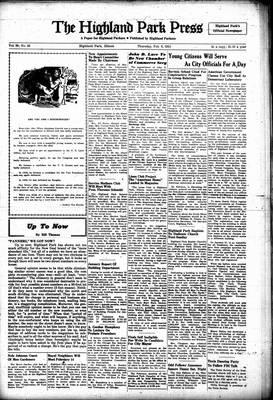 Highland Park Press, 8 Feb 1951