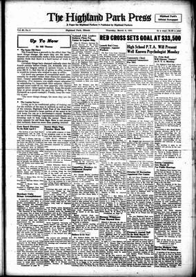 Highland Park Press, 8 Mar 1951