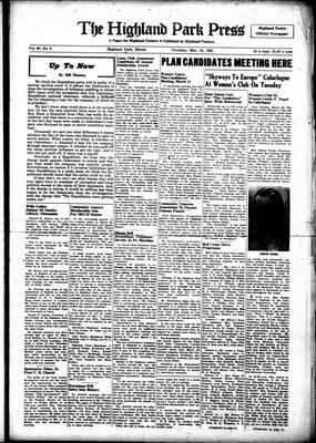 Highland Park Press, 15 Mar 1951