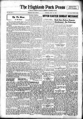 Highland Park Press, 22 Mar 1951