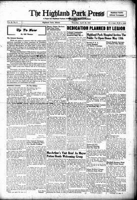 Highland Park Press, 26 Apr 1951