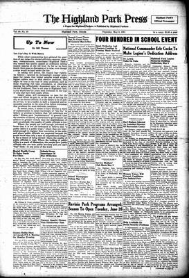Highland Park Press, 3 May 1951