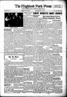 Highland Park Press, 10 May 1951