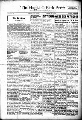 Highland Park Press, 17 May 1951
