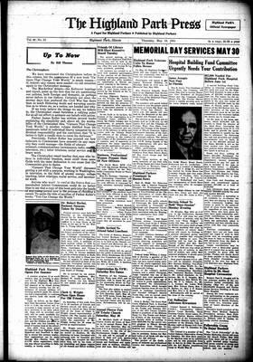 Highland Park Press, 24 May 1951