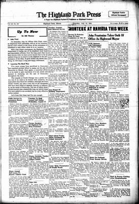 Highland Park Press, 12 Jul 1951