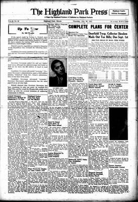 Highland Park Press, 26 Jul 1951