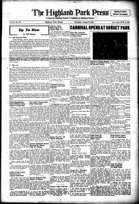 Highland Park Press, 2 Aug 1951