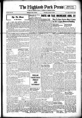 Highland Park Press, 16 Aug 1951