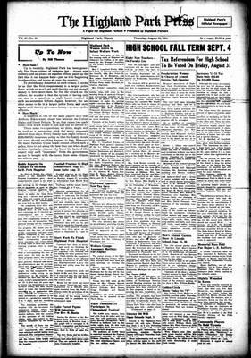 Highland Park Press, 23 Aug 1951