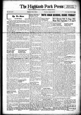 Highland Park Press, 30 Aug 1951