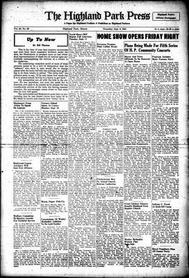 Highland Park Press, 6 Sep 1951