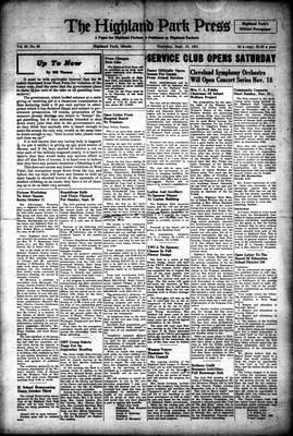 Highland Park Press, 13 Sep 1951