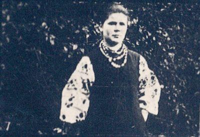 Young Vasilina Bokan, 1905