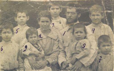 The Bokan family, circa 1924