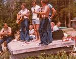 Group Sing Along at Camp MacDougall 1977