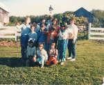 Iron Bridge United Church Junior Choir Picnic - June 1985