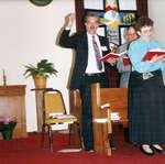 Ted Linley, Ken McClelland, Nancy Mundell, May 17, 1992