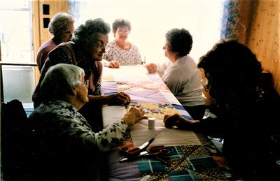 Women Quilting