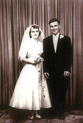 Marriage of Bertha Murphy and Garnet Morrison