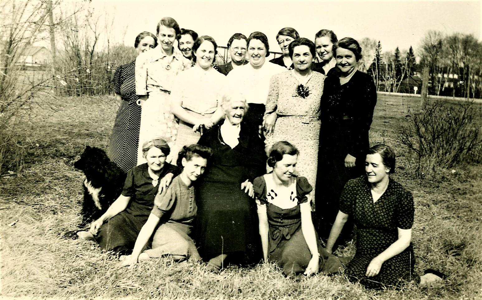 Group of Women, circa 1939