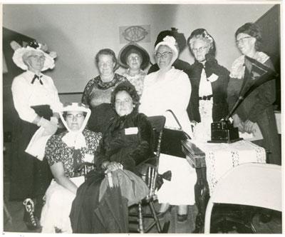 Iron Bridge Women's Institute 50th Anniversary, 1964