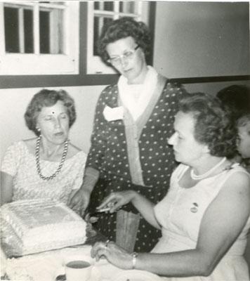 Women's Institute 50th Anniversary, Iron Bridge, 1964