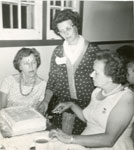 Women's Institute 50th Anniversary, Iron Bridge, 1964