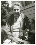 Iron Bridge Women's Institute Member Mrs. Rose Maitland, Circa 1960