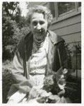 Iron Bridge Women's Institute Member Mrs. Rose Maitland, Circa 1960