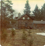 The Warnock Home, Iron Bridge, Circa 1960