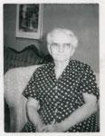 Mrs. Peter Hansen (Ida Warnock), Iron Bridge, Circa 1940