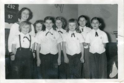 United Church Explorers Group, Iron Bridge, 1952