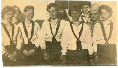 United Church C.G.I.T. Members, Iron Bridge, 1961