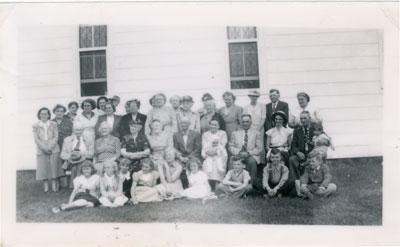 United Church Reunion, Iron Bridge, 1939