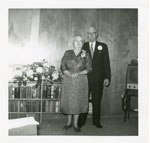 Mr. Robert Nicholson and Mrs. Charlotte Nicholson (Jack) 50th Wedding Anniversary, 1962