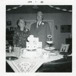 Mr. and Mrs. George Nicholson 50th Wedding Anniversary, 1963