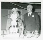 Mr. Edgar Hare and Mrs. Hazel Hare 50th Wedding Anniversary, 1960
