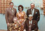 Tulloch Family, 50th Wedding Anniversary, Iron Bridge, 1975