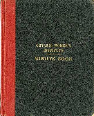 Iron Bridge Women's Institute Branch Minute Book,  1949 -  1955